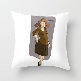 Maruha Throw Pillow