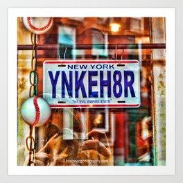 Yankee Hater Art Print