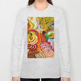 colored flow Long Sleeve T-shirt