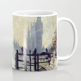Claude Monet The Thames Below Westminster Coffee Mug