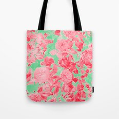 Roses Are Pink Tote Bag
