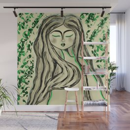 Green with envy Wall Mural