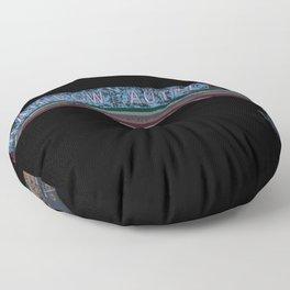 Rainbow Autel Floor Pillow