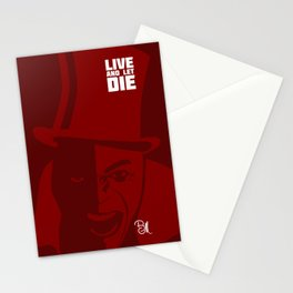 Live And Let Die Stationery Cards