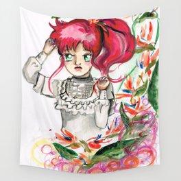 Sailor Jupiter Orange Flower Wall Tapestry
