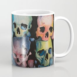Colorful Skulls Coffee Mug