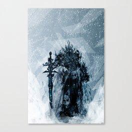A Frosty King Canvas Print