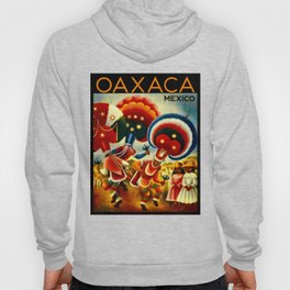 Oaxaca Mexico Vintage Travel Hoody