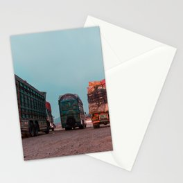 Trucks of Pakistan Stationery Cards