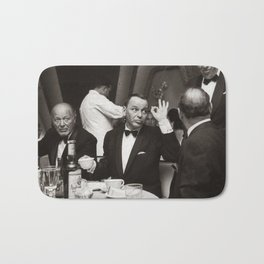 Sinatra and Ed Sullivan at the Eden Roc - Miami - 1964 Bath Mat
