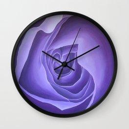 Crown Chakra Rose Wall Clock
