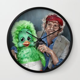 Keith and Orville Wall Clock