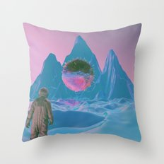 SOMEWHERE ELSE Throw Pillow