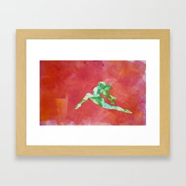 Gymnast 2 Framed Art Print