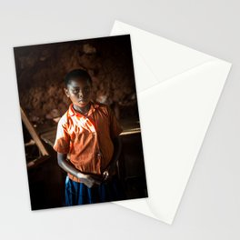 Nelly portrait Stationery Cards