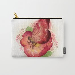 Pollinator Animals- Butterfly Carry-All Pouch