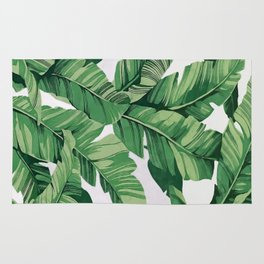 Tropical banana leaves VI Rug