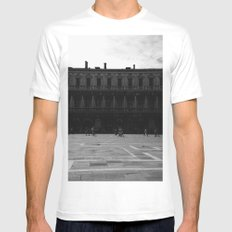 Piazza San Marco White MEDIUM Mens Fitted Tee