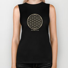 The Flower of Life Biker Tank