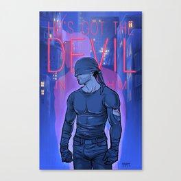 Got the Devil in Him Canvas Print