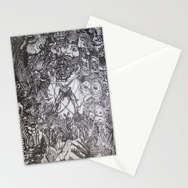 Lithe intention - Strained animation Stationery Cards