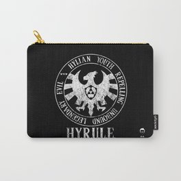 Agents of H.Y.R.U.L.E. | White print variant Carry-All Pouch