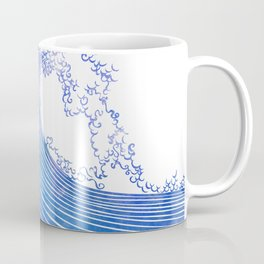 Pacific Waves III Coffee Mug