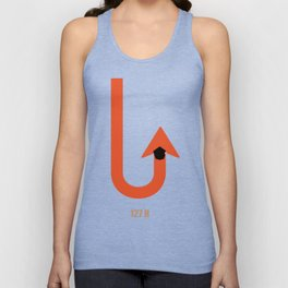 Lab No.4 -127 HOURS  inspirational quotes poster Unisex Tank Top