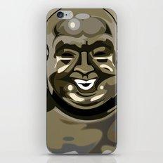 Laughing Buddha II iPhone & iPod Skin