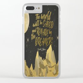 By the Dreamers Clear iPhone Case