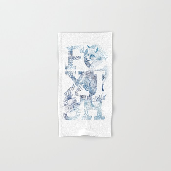 Foxish Hand & Bath Towel