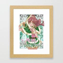 Merry Xmas Makoto! Framed Art Print