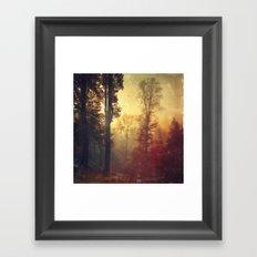 Quite Morning Framed Art Print