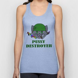 Pussy Destroyer Unisex Tank Top