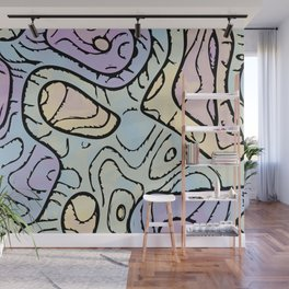 Funky Abstract 6 Wall Mural