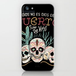 God is not dead iPhone Case
