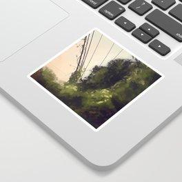 Overgrown Sticker