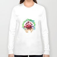 metroid Long Sleeve T-shirts featuring Metroid Watercolor by Insomniac