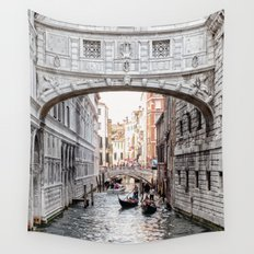 Bridge of Sighs, Venice, Italy (Lighter Version) Wall Tapestry
