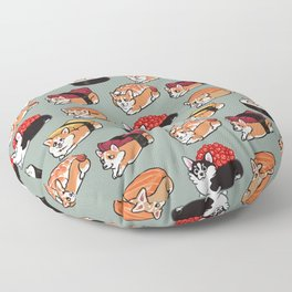 Sushi  Corgi Floor Pillow