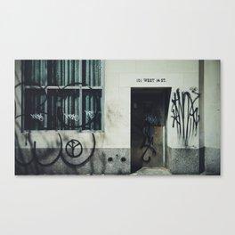 You Vandal Canvas Print