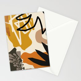 Botanical Abstracts Minimal #illustration #digitalart Stationery Cards