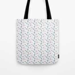 Spacemen on Earth Tote Bag