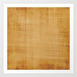 Burlap Brown Look Art Print