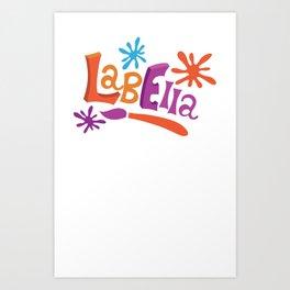 LabElla Art Print