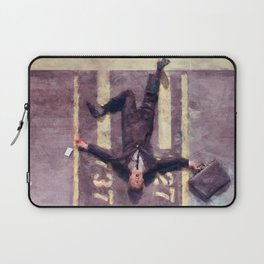Lloyd Christmas Fell Off The Jetway Again - Dumb And Dumber Laptop Sleeve