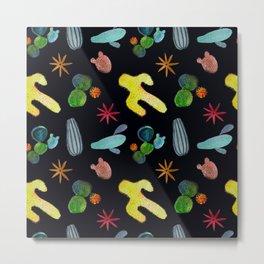 Disco cacti Metal Print