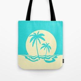 Calm Palm Tote Bag