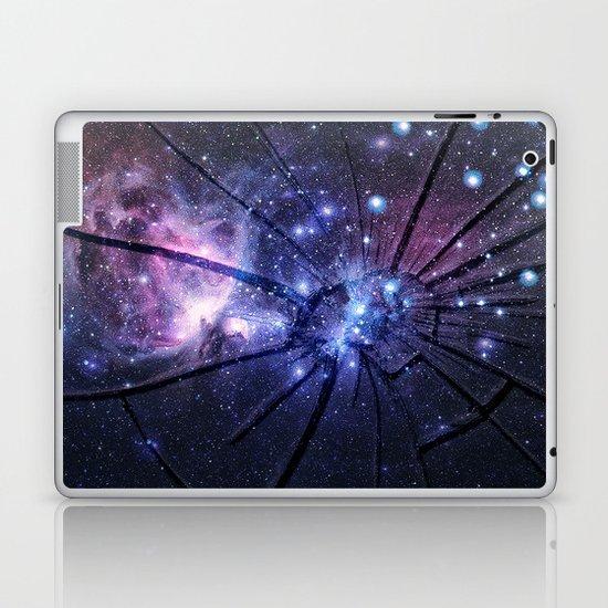 Broken Galaxy Laptop & iPad Skin