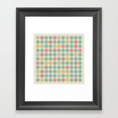 yellow mantis Framed Art Print